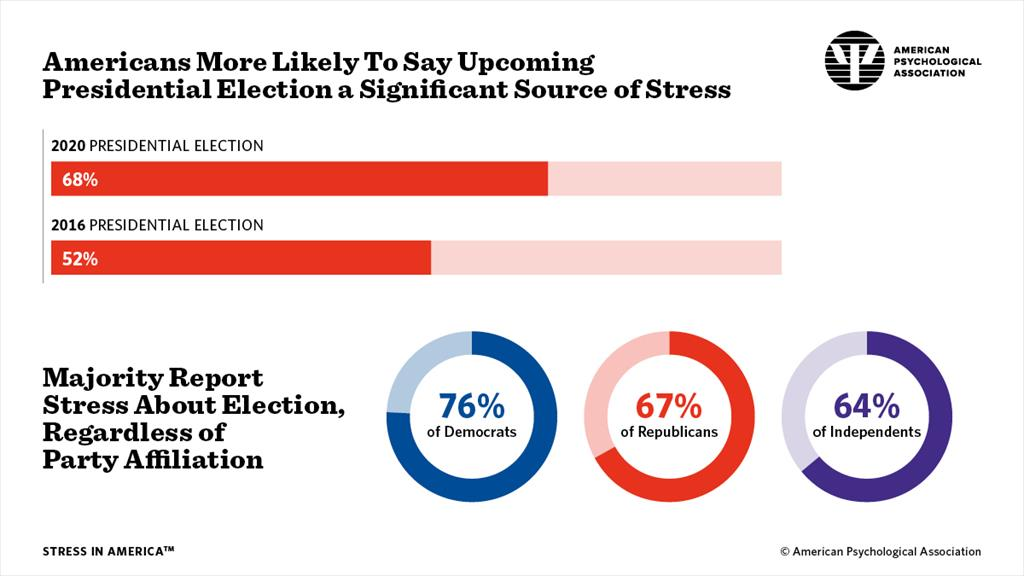 apa election stress infographic